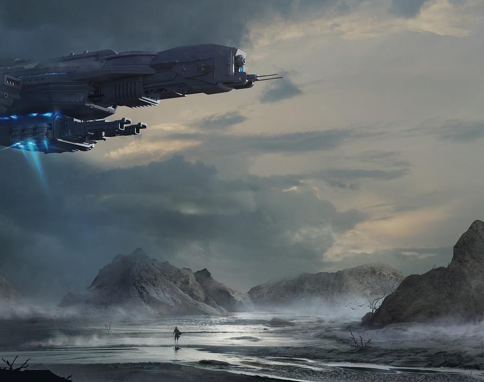 Spaceshipby Samantha Kung