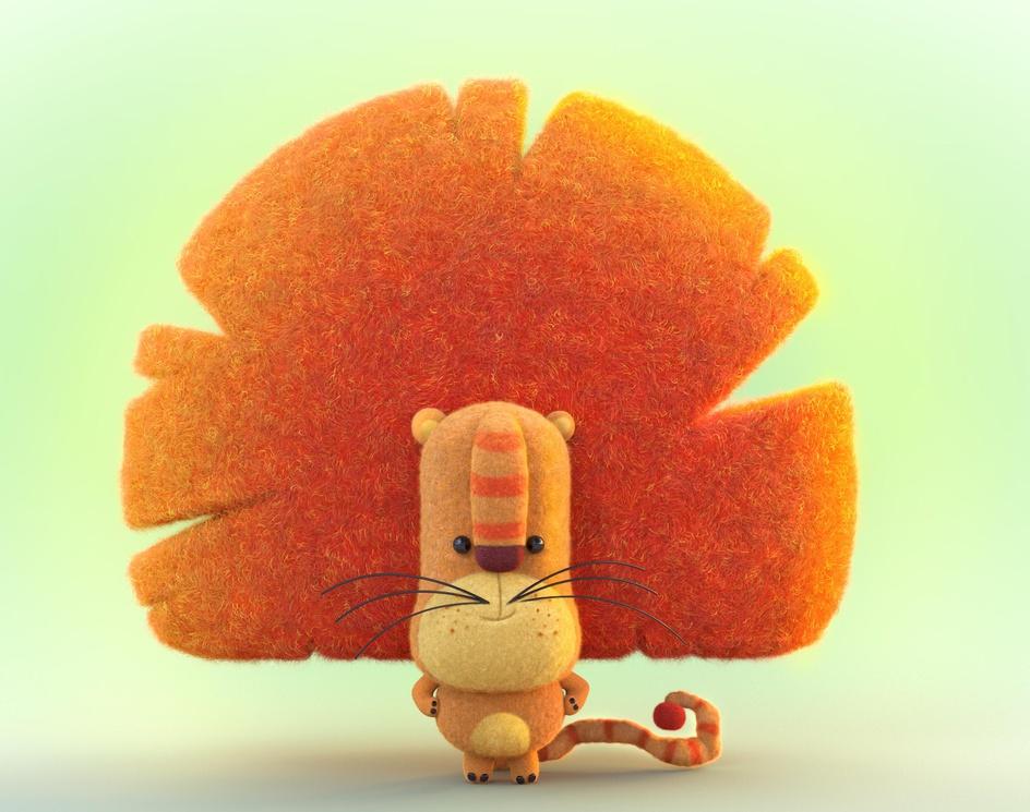 Felted Animal-Preschool Animated TV seriesby Ali Chenari