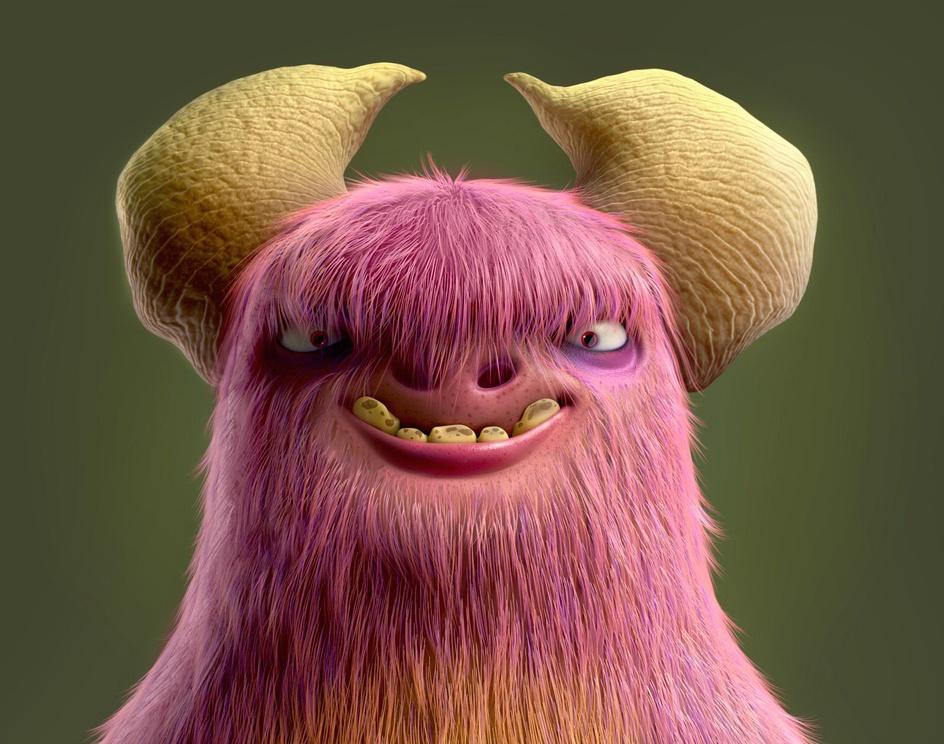 Silly Monster!by Ali Chenari