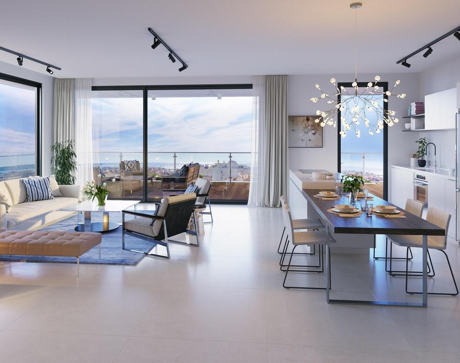 Sea View Penthouse Apartment   Interior Designby DEER Design