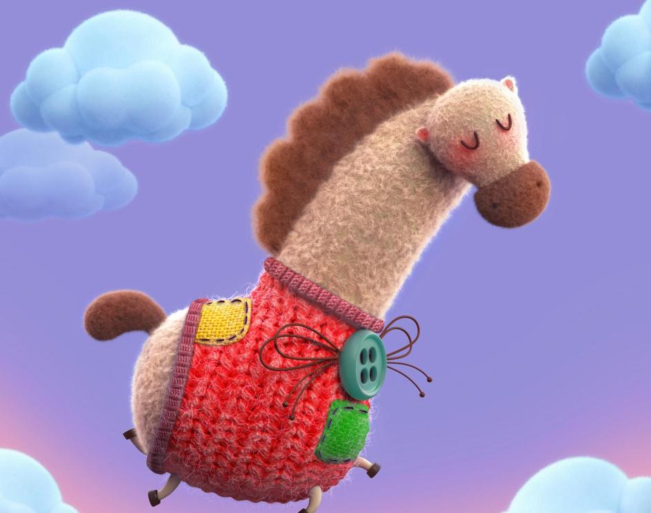 Jolly Horseby Ali Chenari