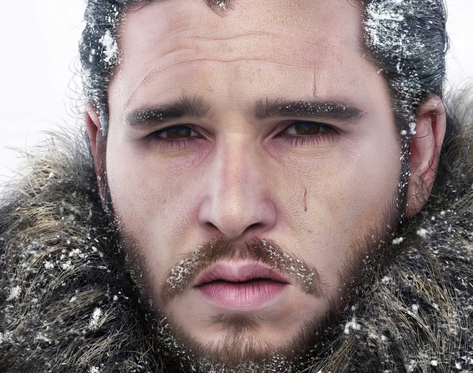 Jon Snowby Hossein_Diba