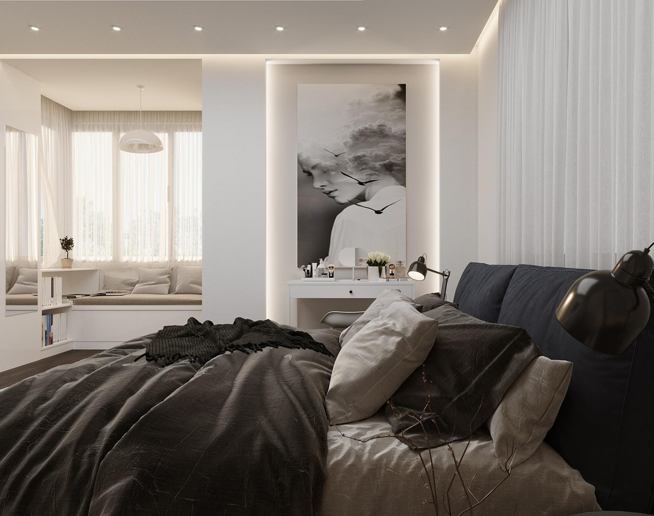 Bedroom Designby Mehdi Farmani
