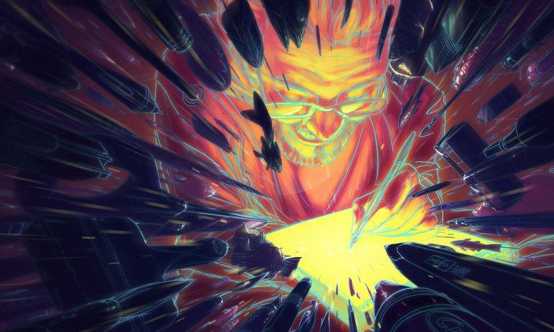 2d illustration photoshop colour imagery self portrait