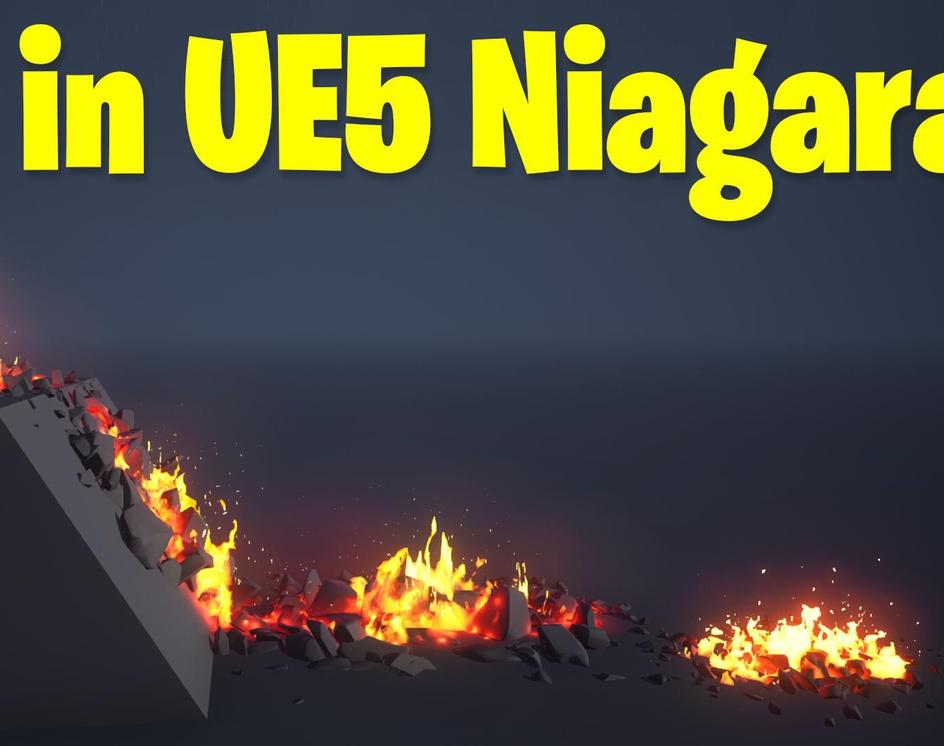 Fire in UE5 Niagara Tutorial | Download Filesby Ashif Ali