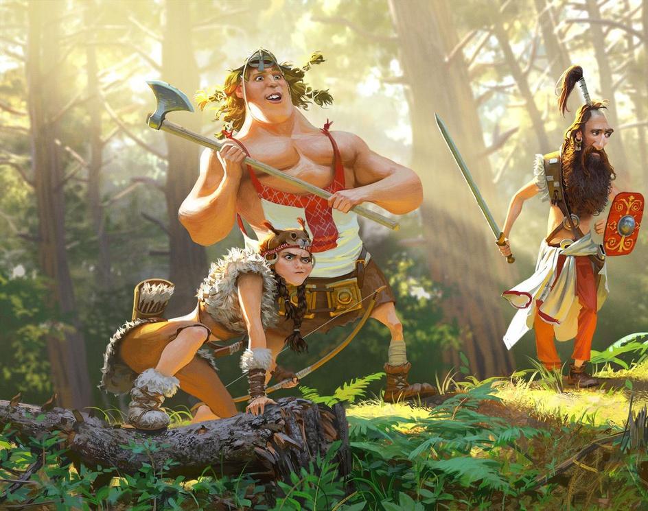 Sclavenian warriorsby Firstear