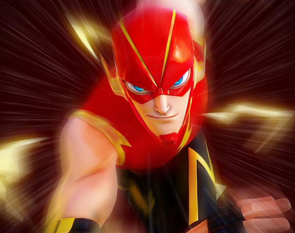 """The Flash (redesign by """"Colorreaper"""")by Gabriel L. Galvao"""