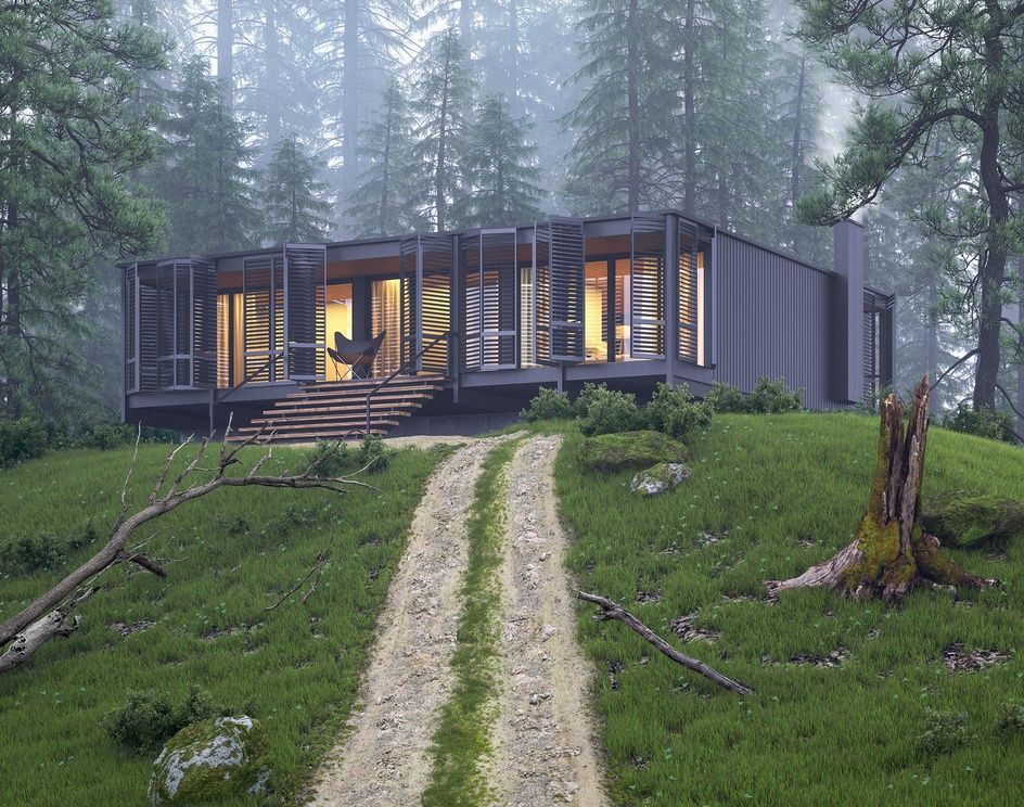 Forest Houseby mohammadmansouricg