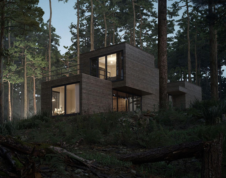 Residence in the woodsby Ravelin3d