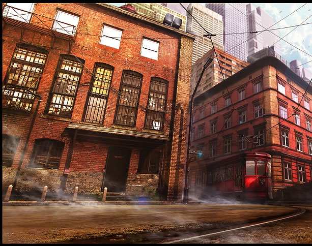 'Red Tram'by Weiye Yin (Franc)