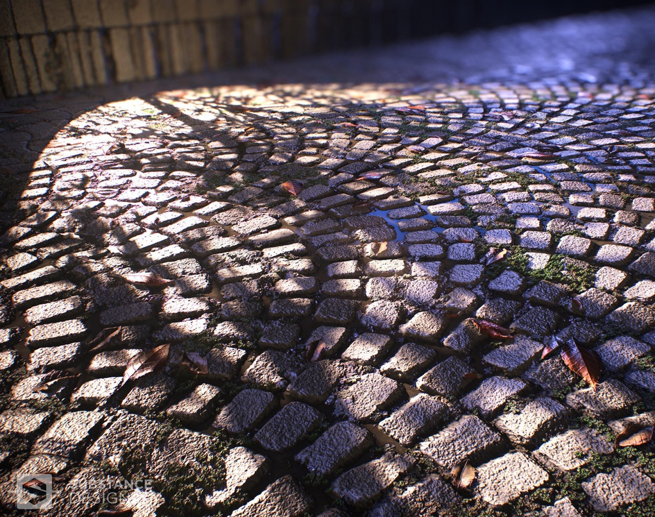 Cobblestones and various rocks with detailsby Francesco Furneri