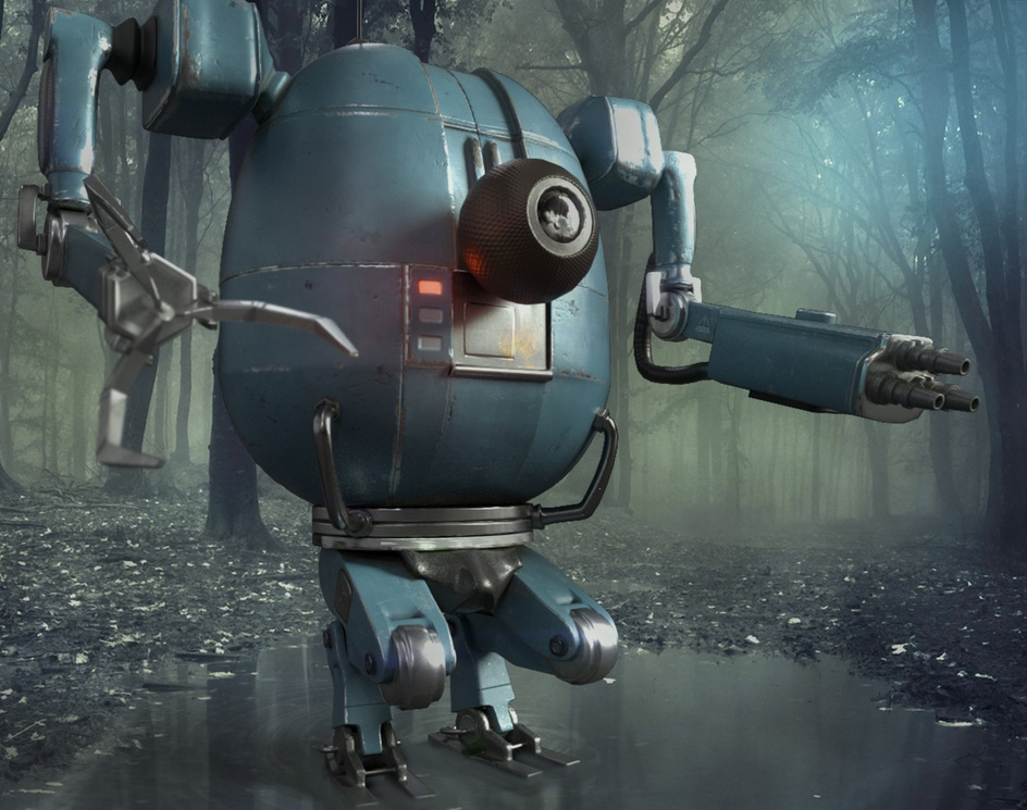 3D Robot Characterby Francesco Furneri