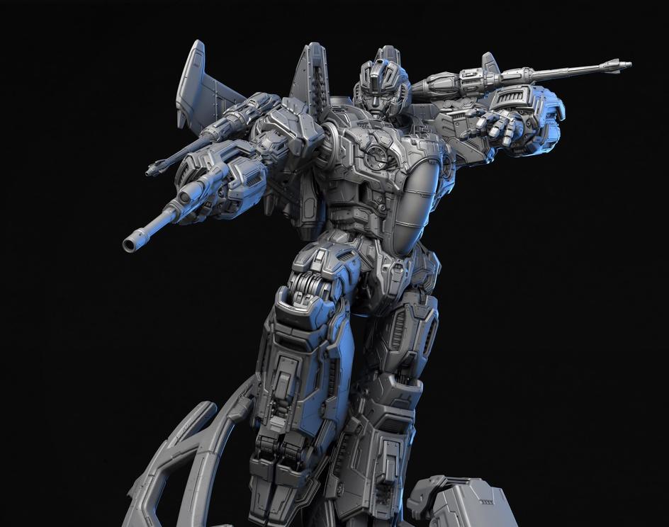 Transformers: Starscream - Xm Studiosby Frederic Daoust