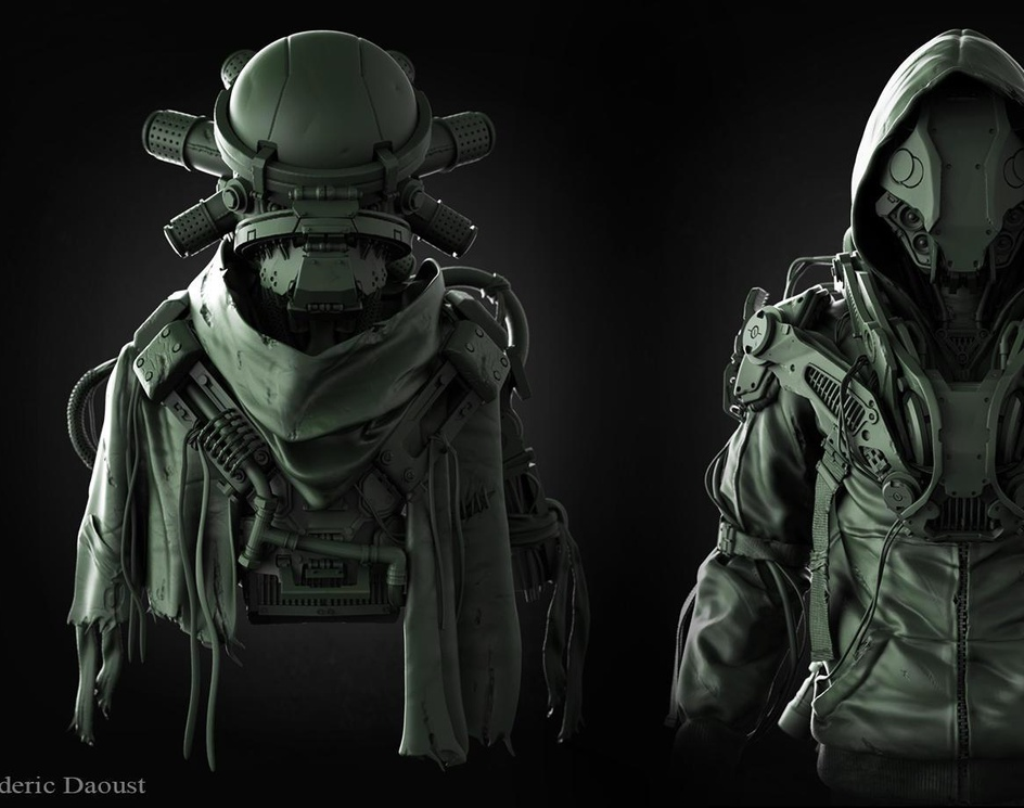 Concept Design Exercise done in zbrushby fredTS