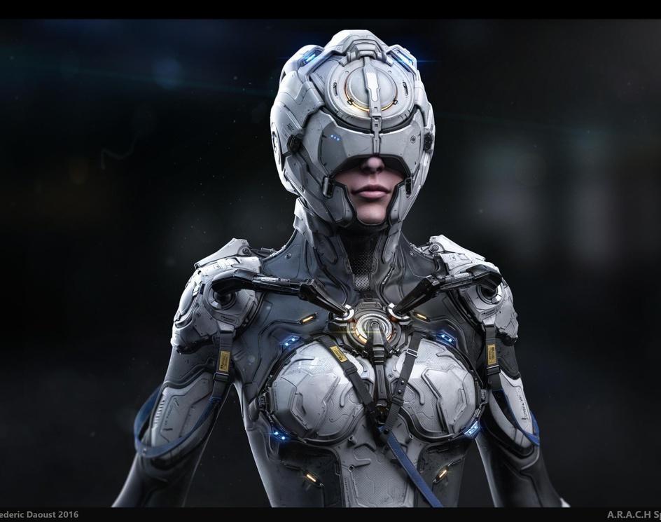 A.R.A.C.H. Space Suit Designby fredTS