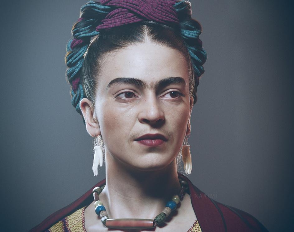 Frida Kahloby Hadi Karimi