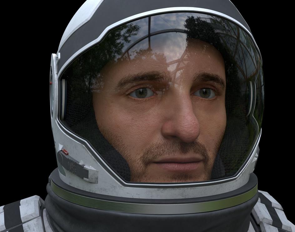 Interstellar Astronautby Nathanaël Langlais