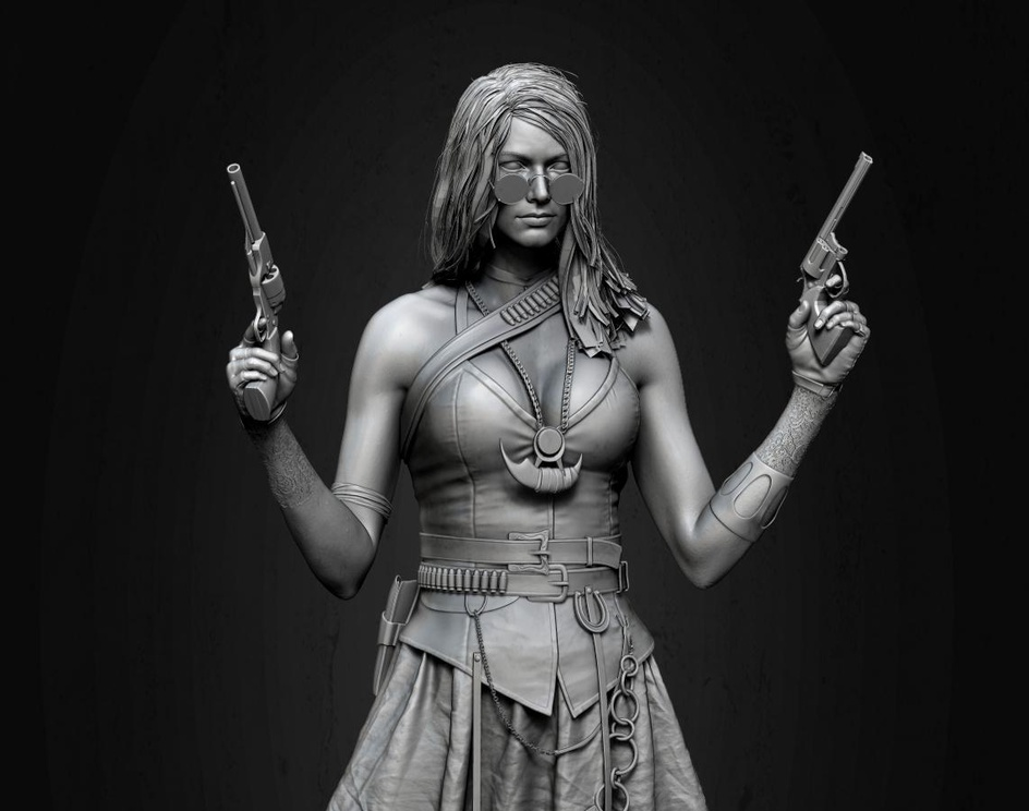 The Gunslinger (Wild West)by Mahabir