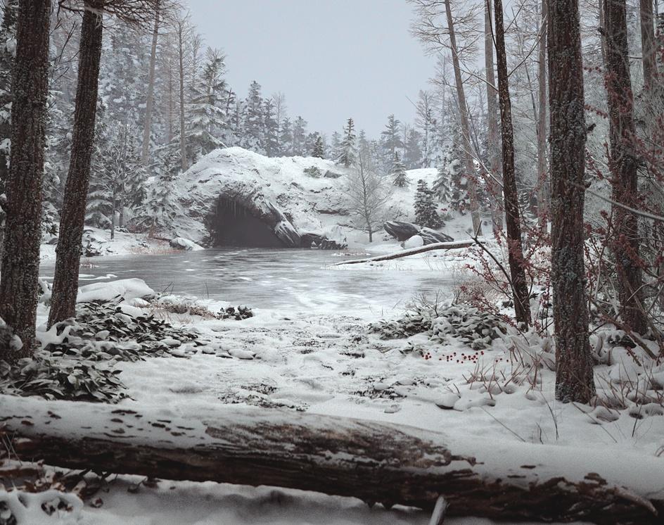 Frozen Lakeby Vitaliy.K