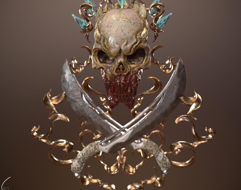The Skullby Sadeq Hosseini