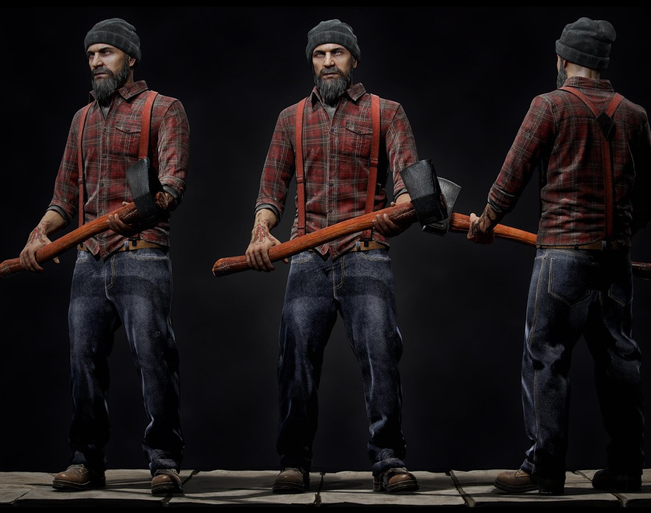 Lumber Jackby Antone Magdy