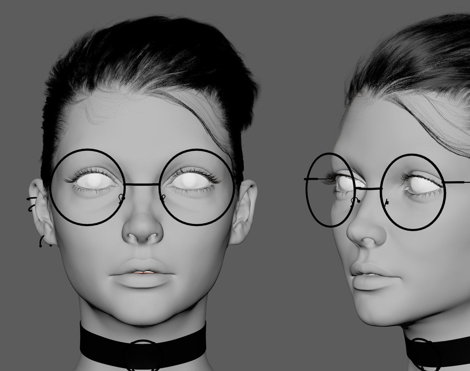 Eva - 3D portraitby cyganovroman