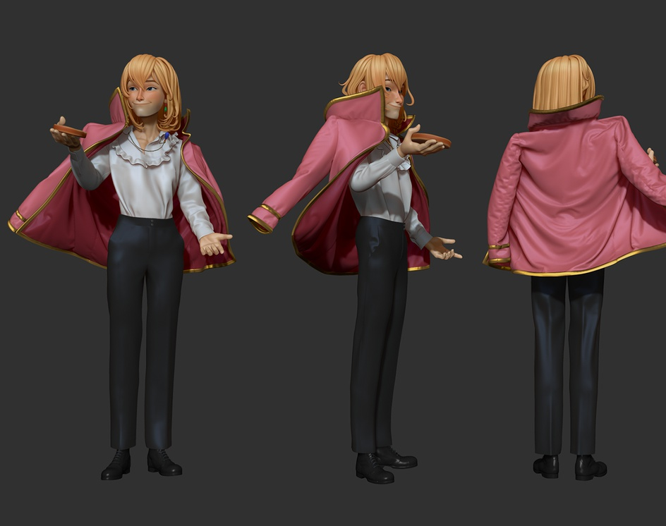 Howl Pendragon from Howl's Moving Castleby Layla Viscu