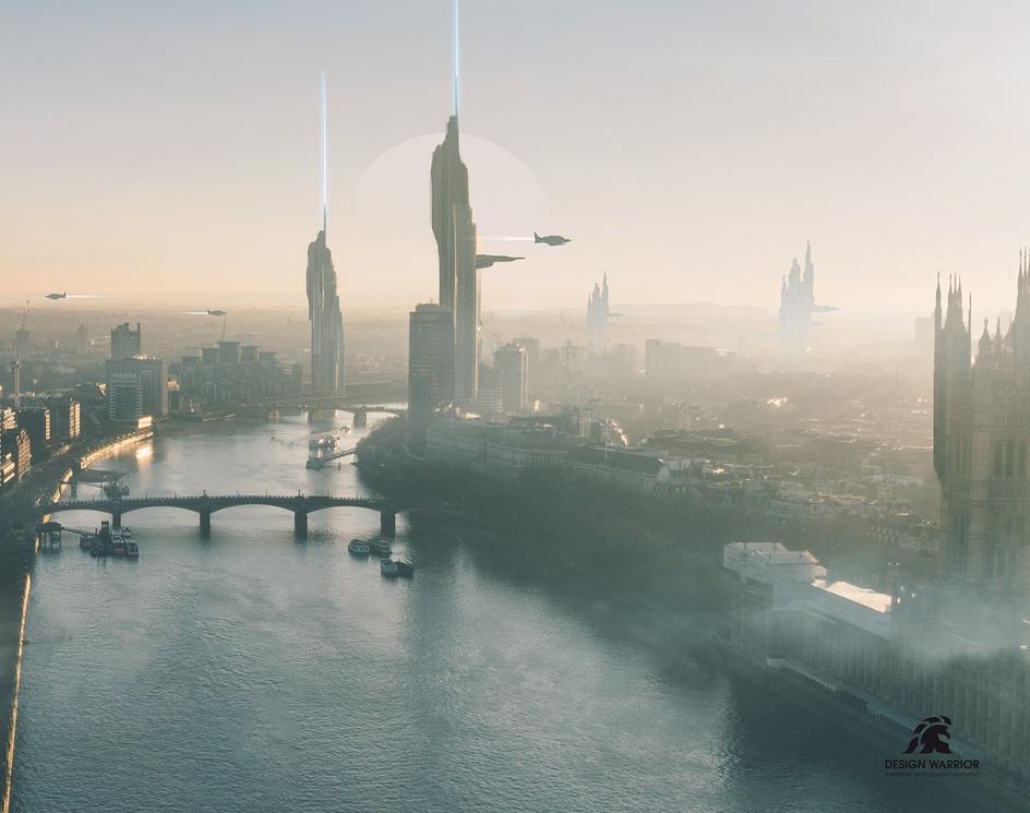 Futuristic City_002by Design Warrior