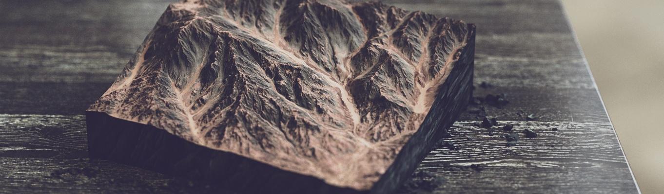 natural material settings 3d render model