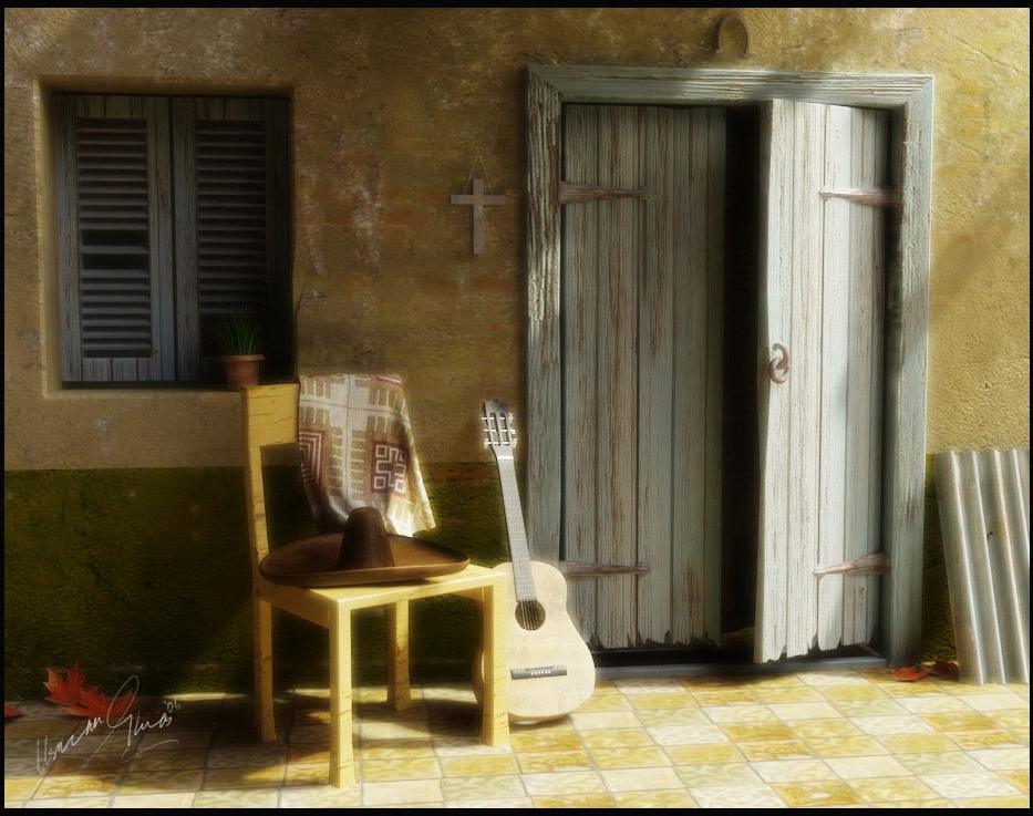 Resting Guitarby usmanghiyas