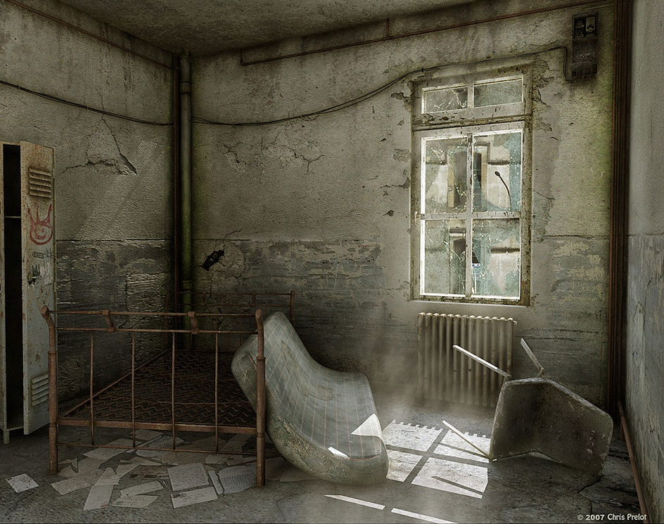 Abandoned Roomby Chris Prelot