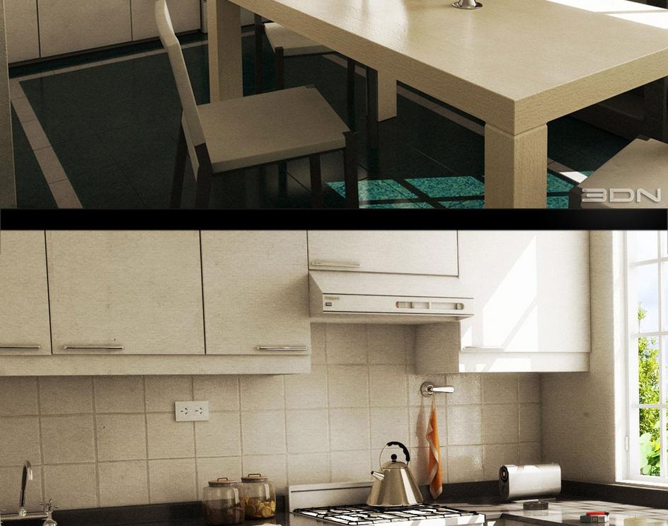 Kitchenby Juan I. Casale
