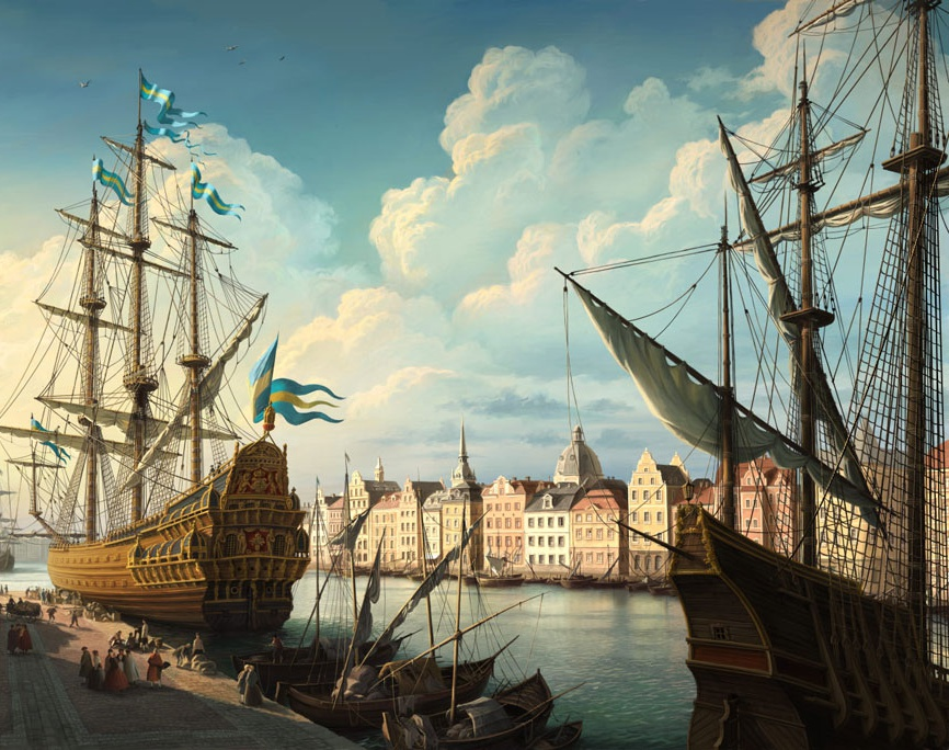 'Sailing Ship'by Olga Antonenko