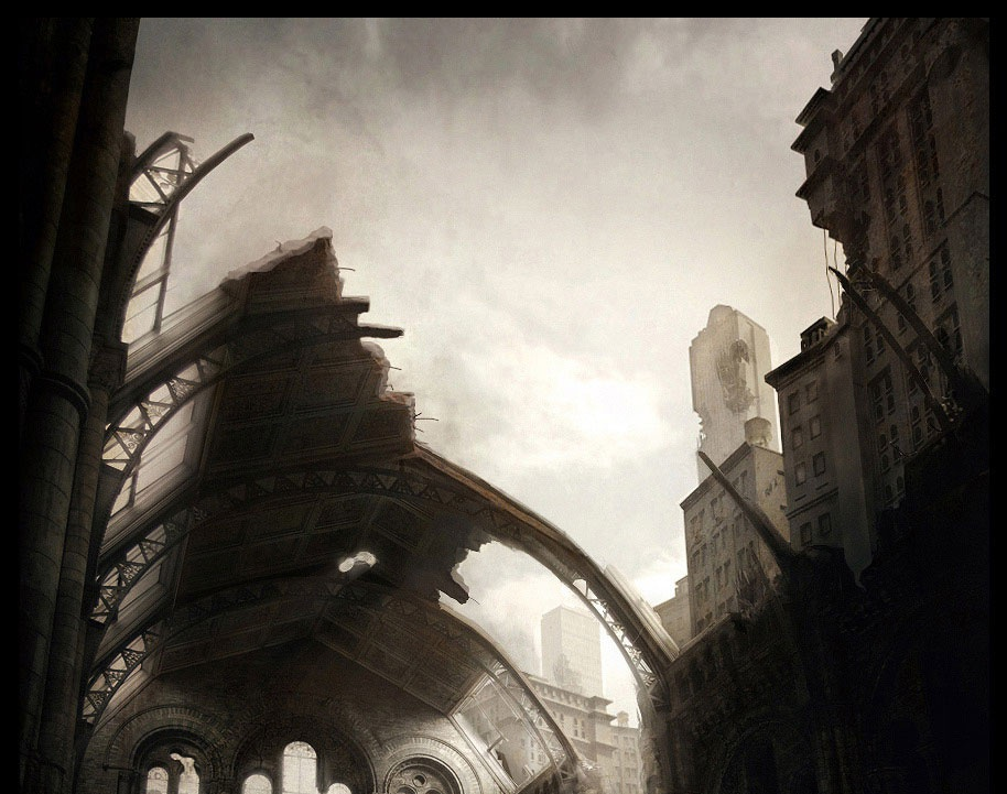 'Abandoned catedral'by Tomas.Kral
