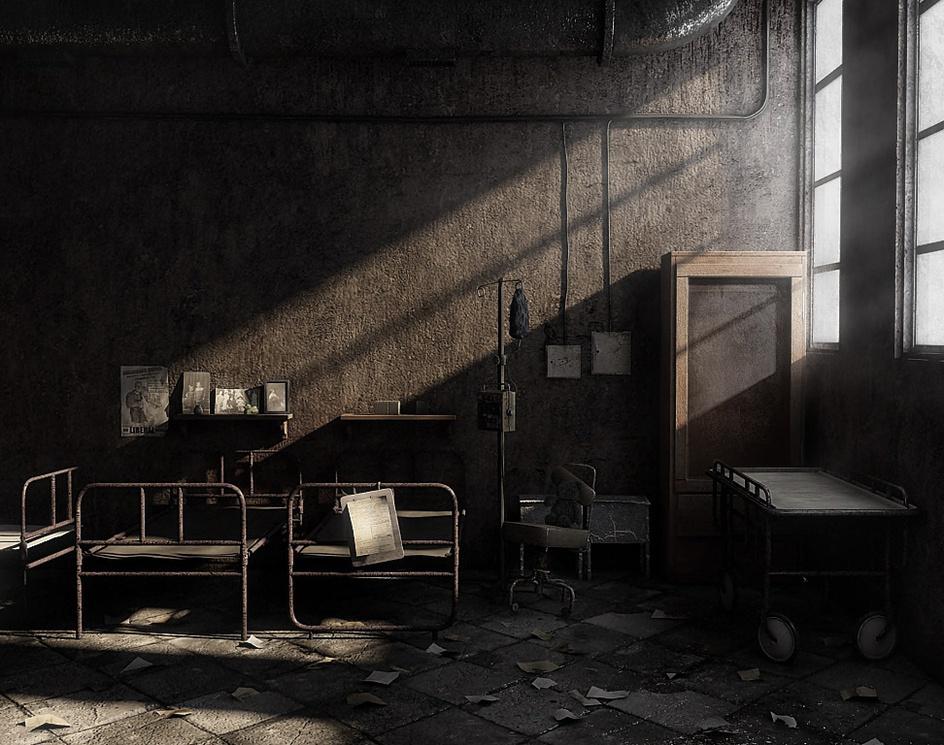 'Riverside State Asylum'by Oers Sardi