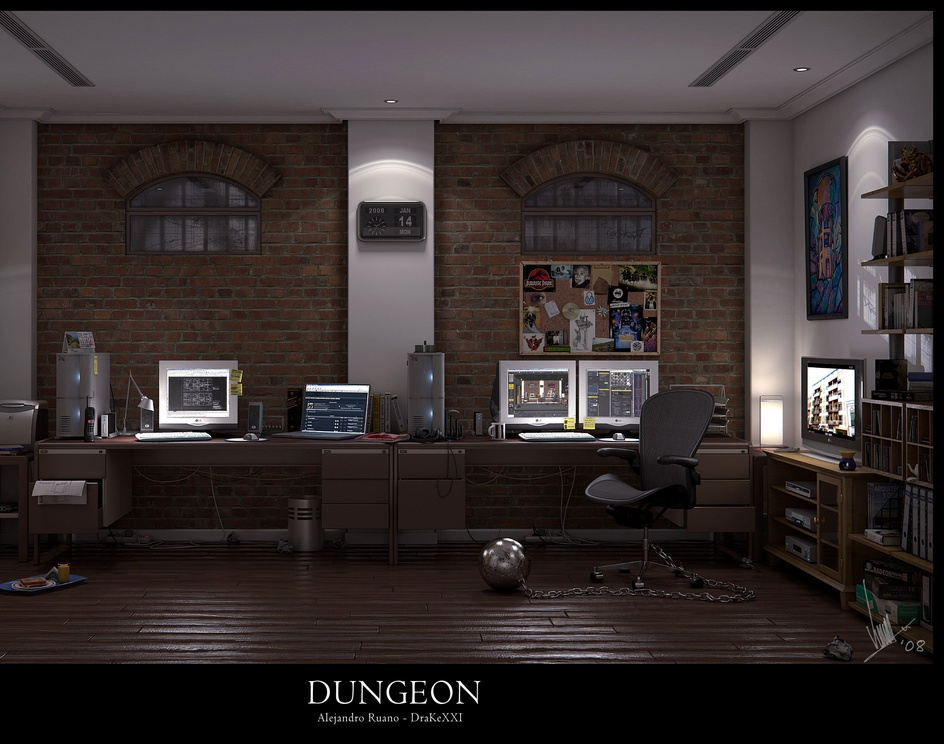 'Dungeon'by Alex Ruano