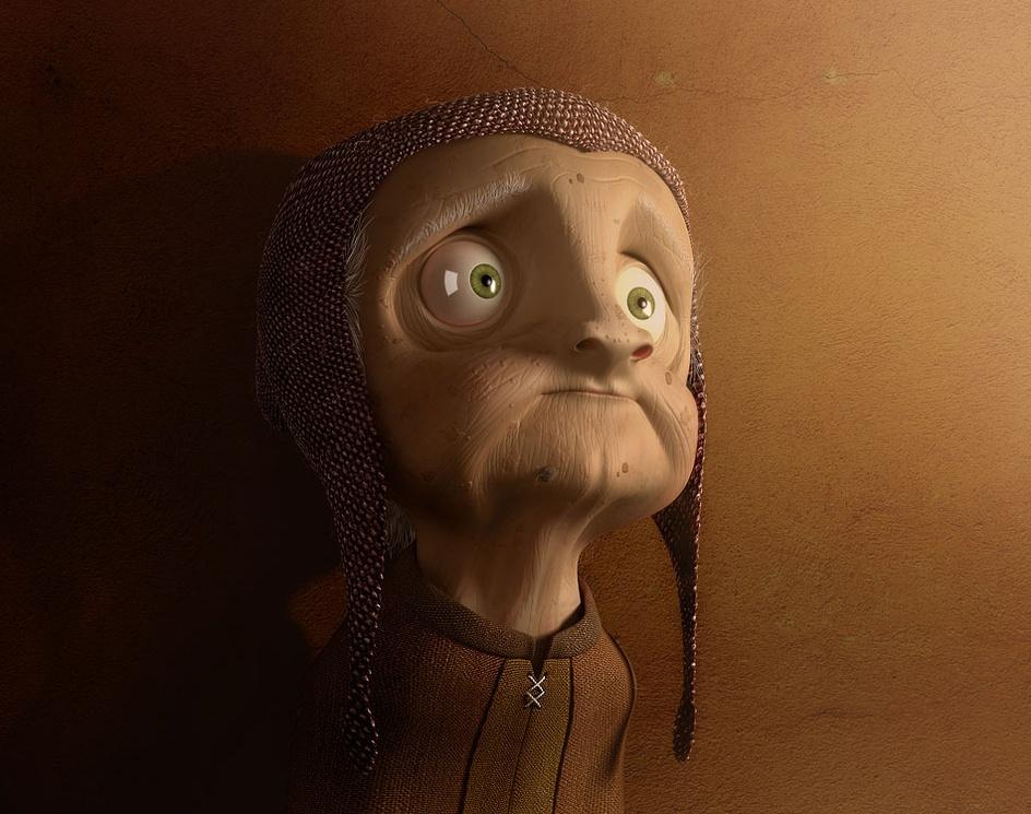 'Grandma'by Denisfeliz