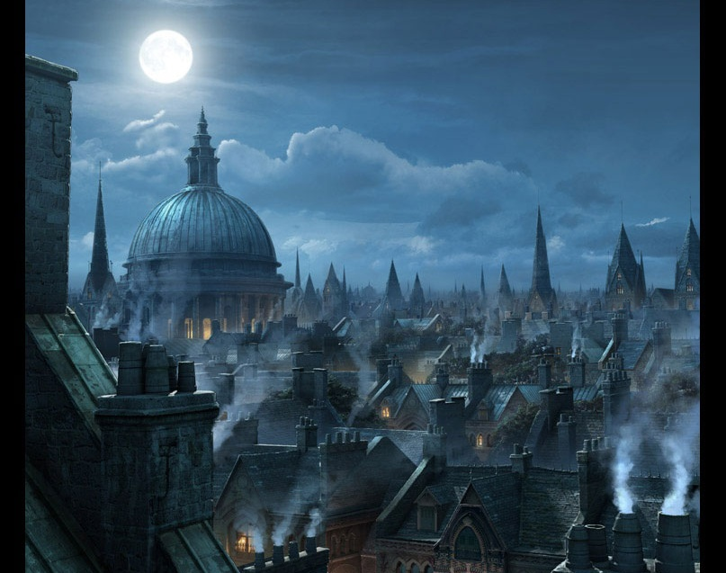 'London Rooftops'by Raphael Lacoste