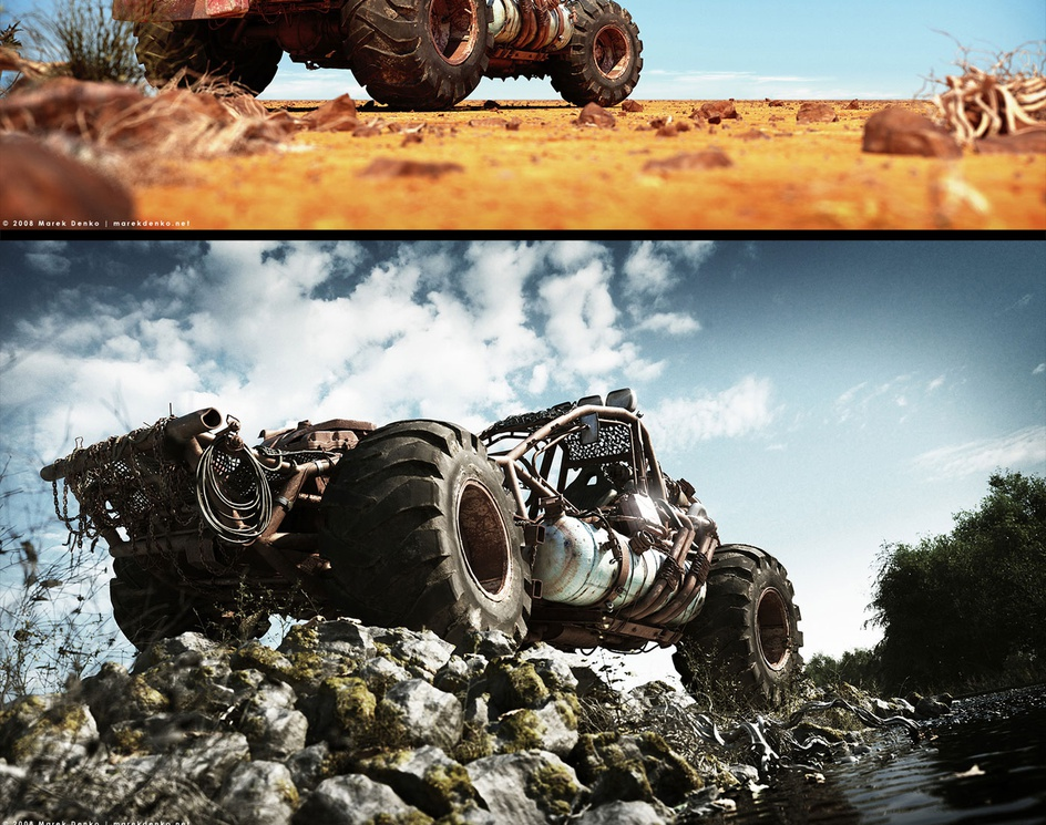 'Buggy Series'by Marek Denko