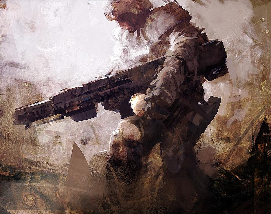 'Assault'by samsonsreaper