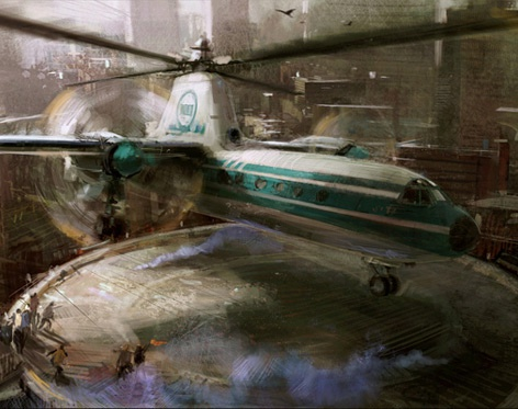 'Helicopter'by Craig Sellars