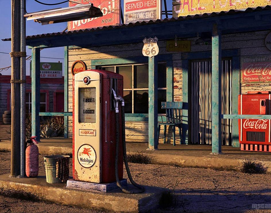 'Route 66'by M_nio3d
