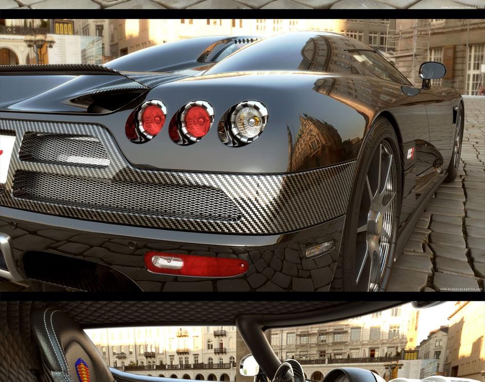 'Koenigsegg CCX in-game (192K tris)'by Yury_Rybakov