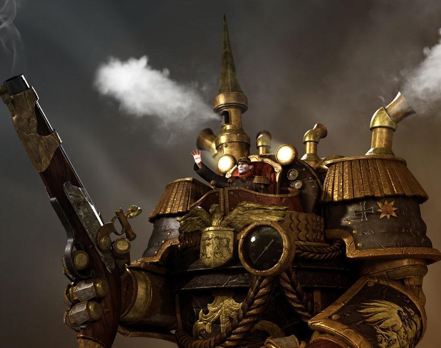 'Steam Wilhelm the Great I'by Ryan Lim