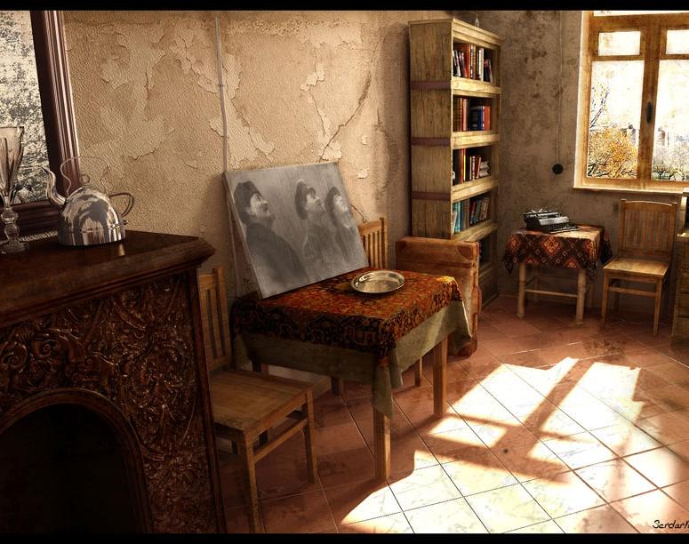 'Mayakovski Room'by serdar.akman