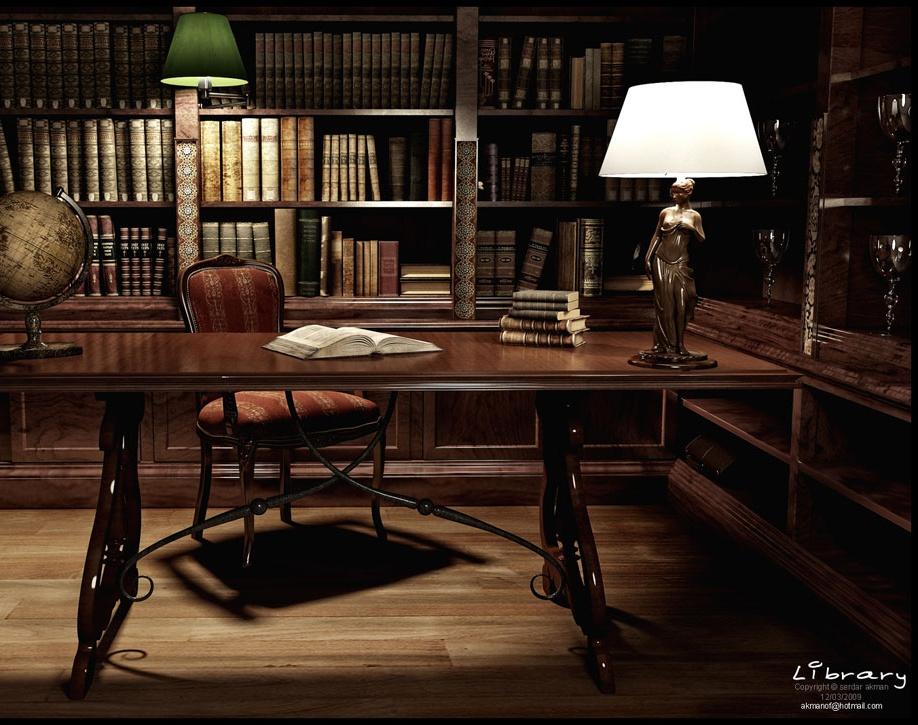 'The Library'by serdar.akman