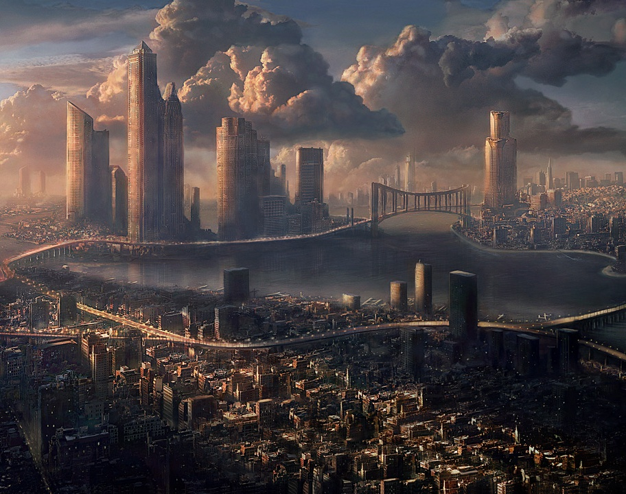 'Cityscape'by Marco Bauriedel