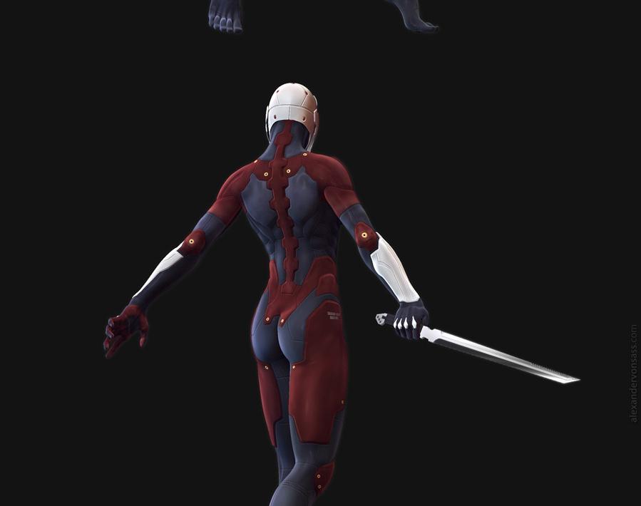 'Metal Gear Solid: Cyborg Ninja'by Alexander von Sass