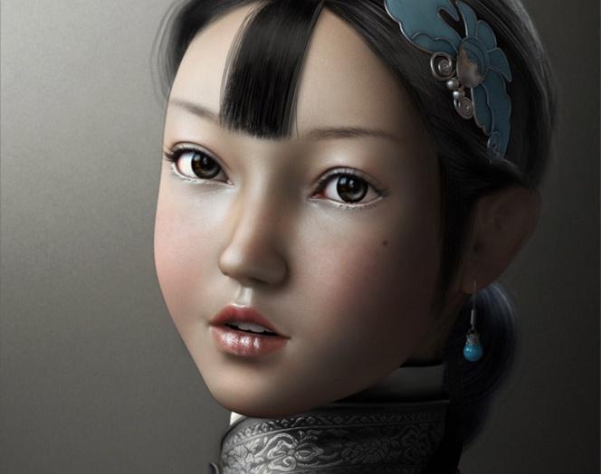 A Chinese Girlby ke weilin