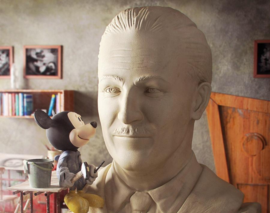 Mickey Mouse's Workshopby Max Uzkikh